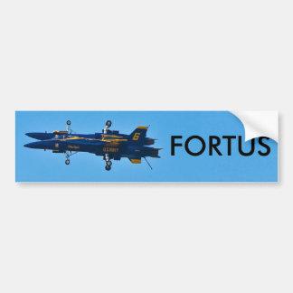 Fortus Car Bumper Sticker