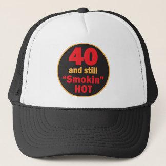 Forty and Still Smokin Hot | 40th Birthday Trucker Hat
