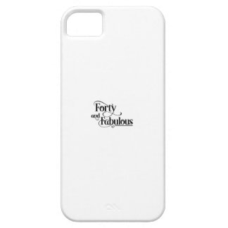 forty birthday iPhone SE/5/5s case