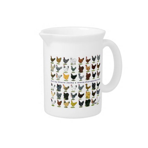 Forty-eight Hen Promo Drink Pitcher