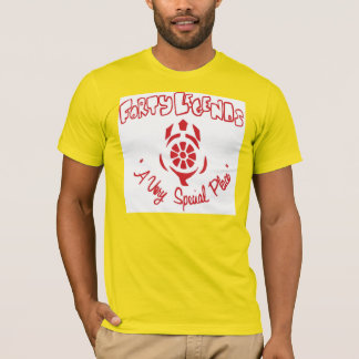 Forty Legends Camp T-Shirt (Red on Gold)