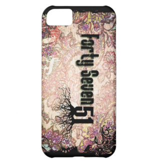 Forty-Seven 51 Funky Case Cover For iPhone 5C