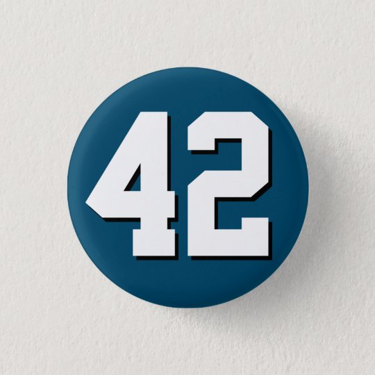 Forty-Two (42) button - Style #45