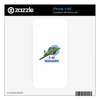 FORTY WARHAWK iPhone 4 SKIN