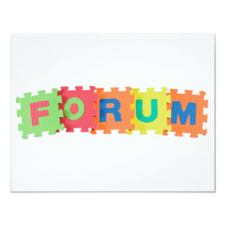 Forum Personalized Announcements