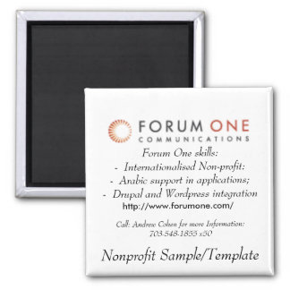 Forum One Magnet