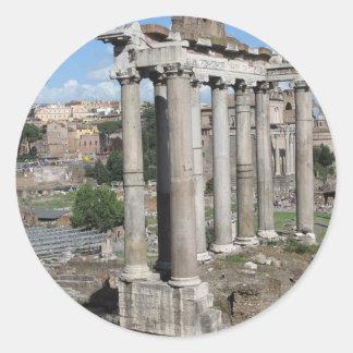 Forum Romanum Classic Round Sticker