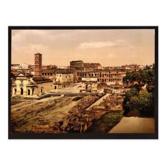 Forum Romanum from the Palatine, Rome, Italy vinta Postcard