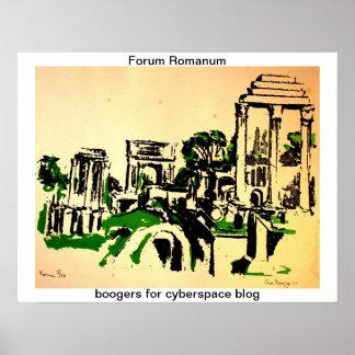 Forum Romanum Posters