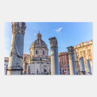 Forum Romanum, Rome, Italy Rectangular Sticker