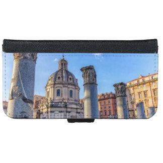 Forum Romanum, Rome, Italy Wallet Phone Case For iPhone 6/6s