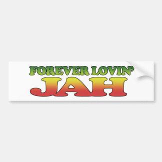 Forver Lovin' Jah Bumper Sticker