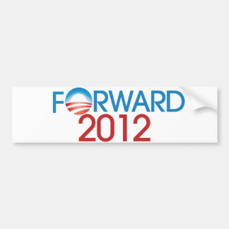 Forward 2012 bumper sticker