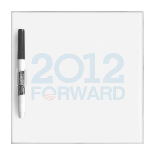 FORWARD 2012 -.png Dry Erase Board