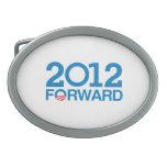 FORWARD 2012 -.png Oval Belt Buckles