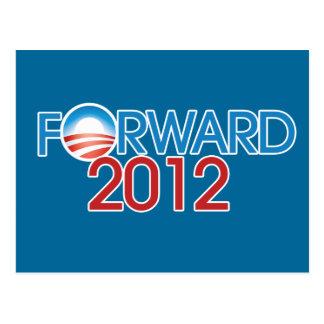 Forward 2012 postcard