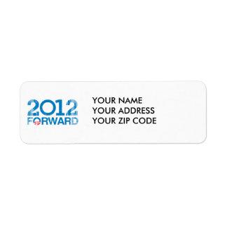 Forward 2012 Vintage Return Address Label