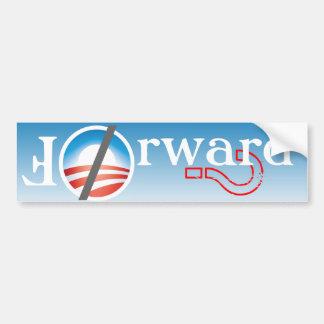 Forward? Anti Obama Bumper Sticker Car Bumper Sticker