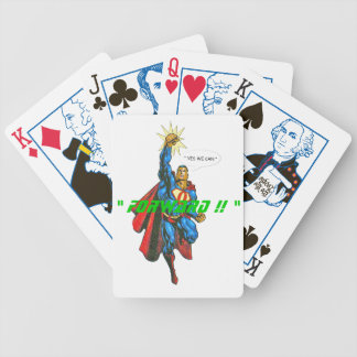""""""" FORWARD !! """" BICYCLE PLAYING CARDS"""