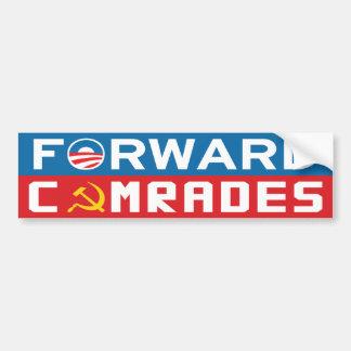Forward Comrades Bumper Sticker