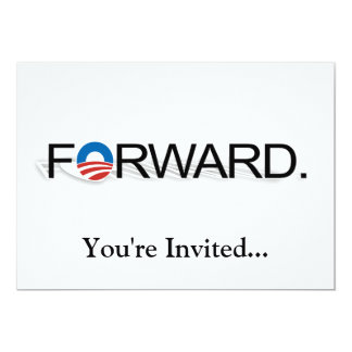 Forward for Obama 2012 Card