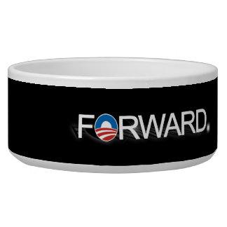 Forward for Obama 2012 Dog Food Bowls