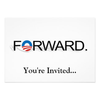 Forward for Obama 2012 Personalized Announcements