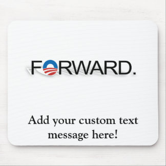 Forward for Obama 2012 Mousepads