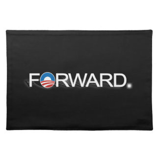 Forward for Obama 2012 Cloth Place Mat