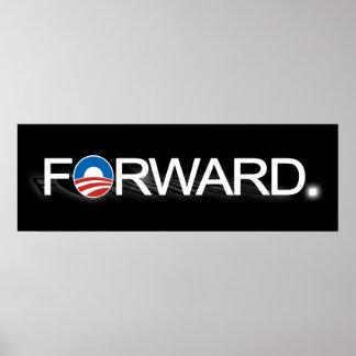 Forward for Obama 2012 Poster
