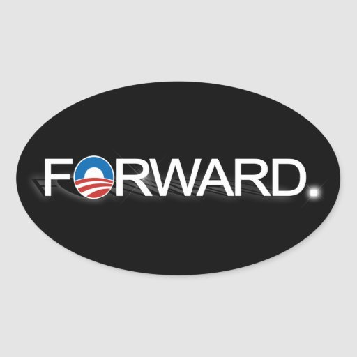 Forward for Obama 2012 Sticker