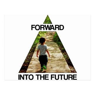 Forward Into the Future Postcard