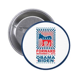 Forward Obama 2012 Button