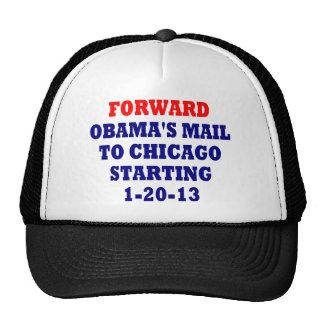 Forward Obama's Mail To Chicago Trucker Hat