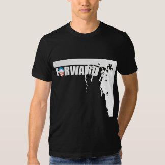 Forward - Off a cliff! - Anti Obama Tee Shirts