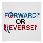 FORWARD OR REVERSE POSTER