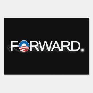 Forward Pro-Obama 2012 Elections Yard Sign