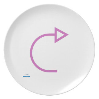 Forward - Single View in iTunes Melamine Plate