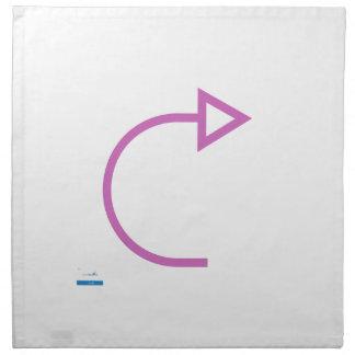 Forward - Single View in iTunes Napkin