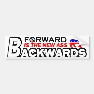 Forward: The New Backwards! Bumper Sticker