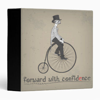 Forward with Confidence 3 Ring Binder