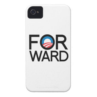 FORWARD WITH OBAMA -.png iPhone 4 Cover
