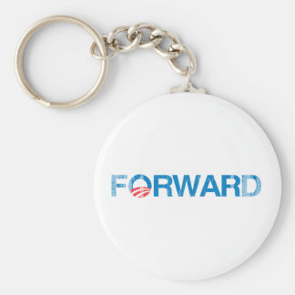 Forward with Obama Vintage.png Keychain