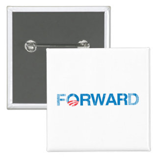 Forward with Obama Vintage.png Pinback Button