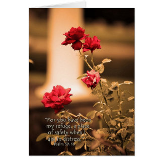 ForyouhavebeenmyrefugeZazzle Greeting Card