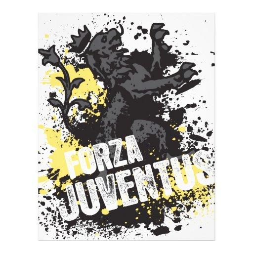 Forza Juventus Membrete Personalizado