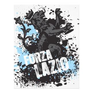 """Forza Lazio Folleto 8.5"""" X 11"""""""