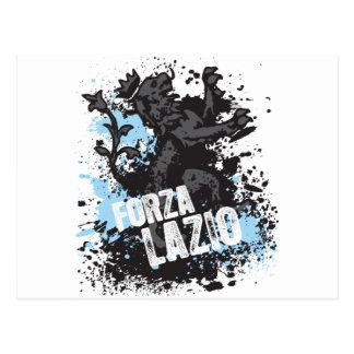 Forza Lazio Postcard