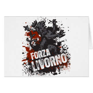 Forza Livorno Greeting Card