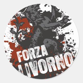 Forza Livorno Classic Round Sticker
